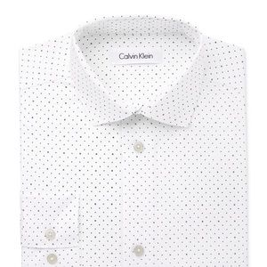 Calvin Klein white long sleeve shirt. Size 14 boy